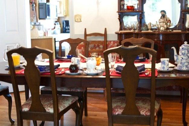 Aldrich House Breakfast