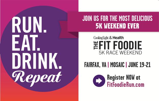 Fit Foodie 5K Race Weekend Fairfax, VA