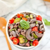 Clean Eating Healthy Pasta Salad