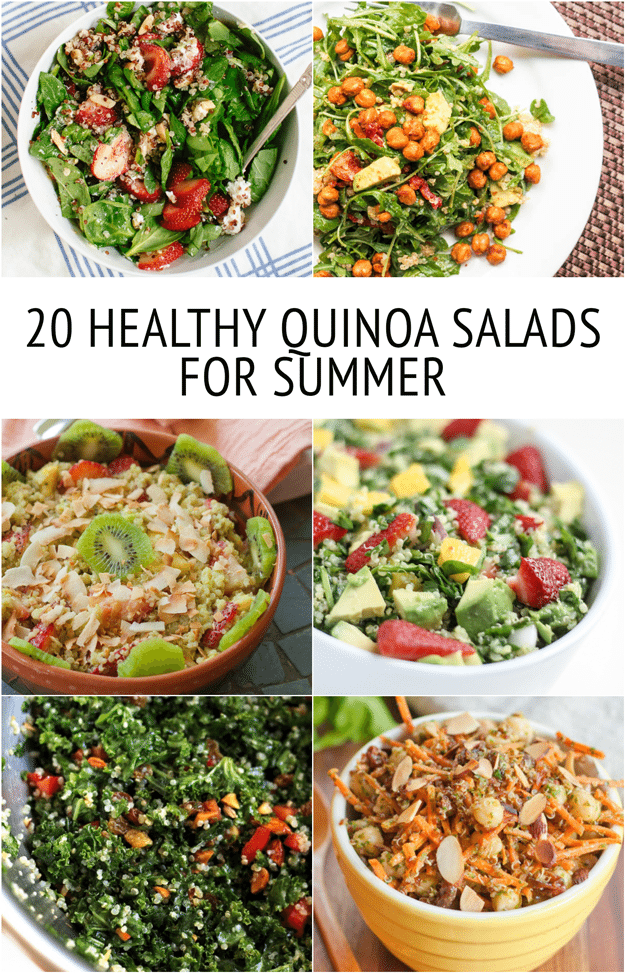 Healthy quinoa salad recipes for summer 20 healthy quinoa salad recipes for summer forumfinder Images