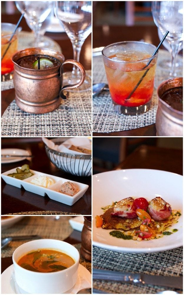 Waypoint Seafood Drinks and Apps