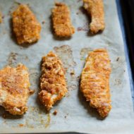 Baked Paleo Chicken Tenders