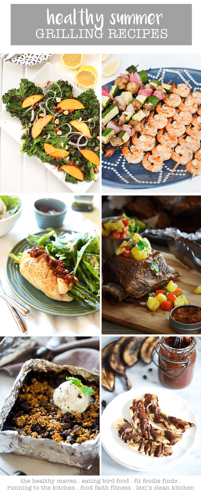 Healthy Summer Grilling Recipes