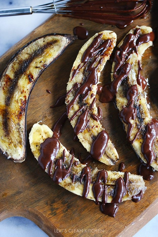 Honey Grilled Bananas