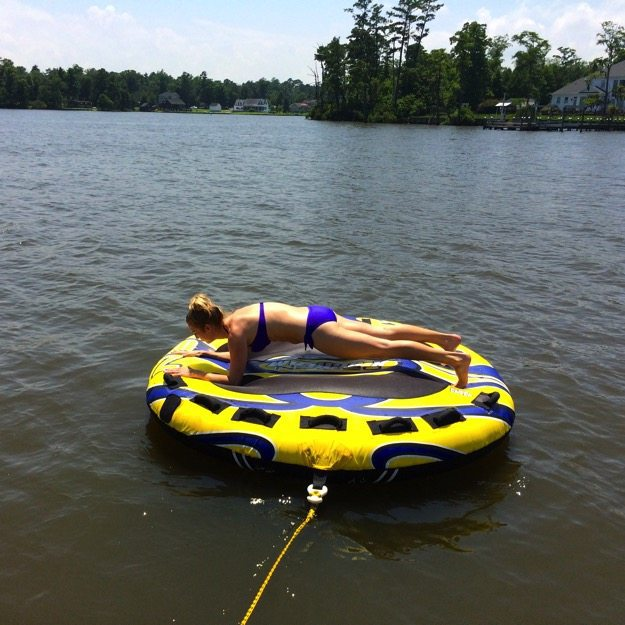 planking on a tube