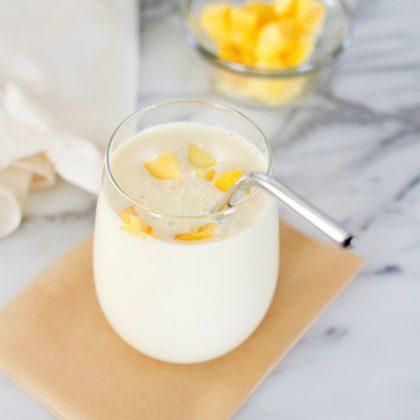 3-Ingredient Mango Smoothie