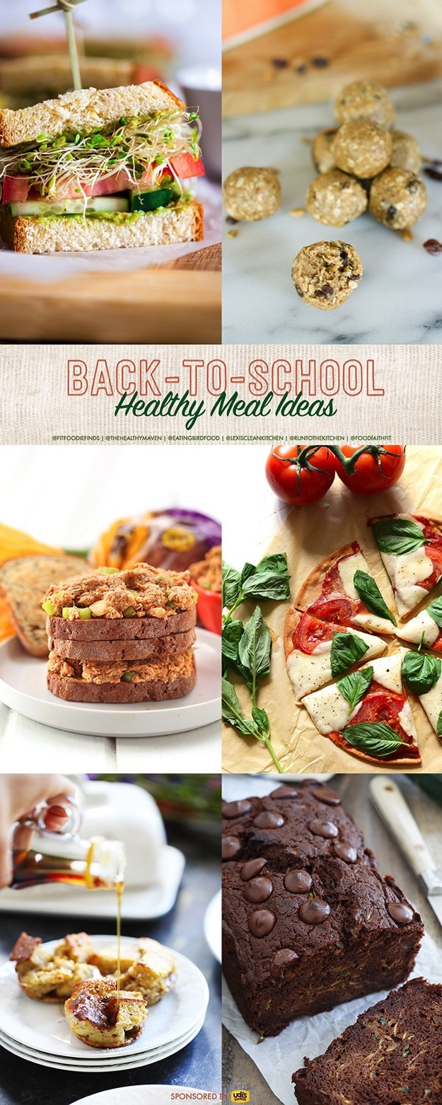 Healthy Gluten-Free Back-to-School Meal Ideas