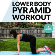 Lower Body Pyramid Workout