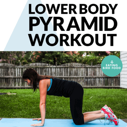 Lower Body Pyramid Workout