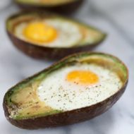 Baked Avocado Eggs + Being on TV