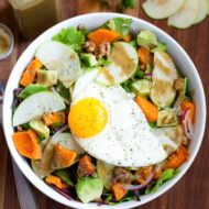 Fall Breakfast Salad