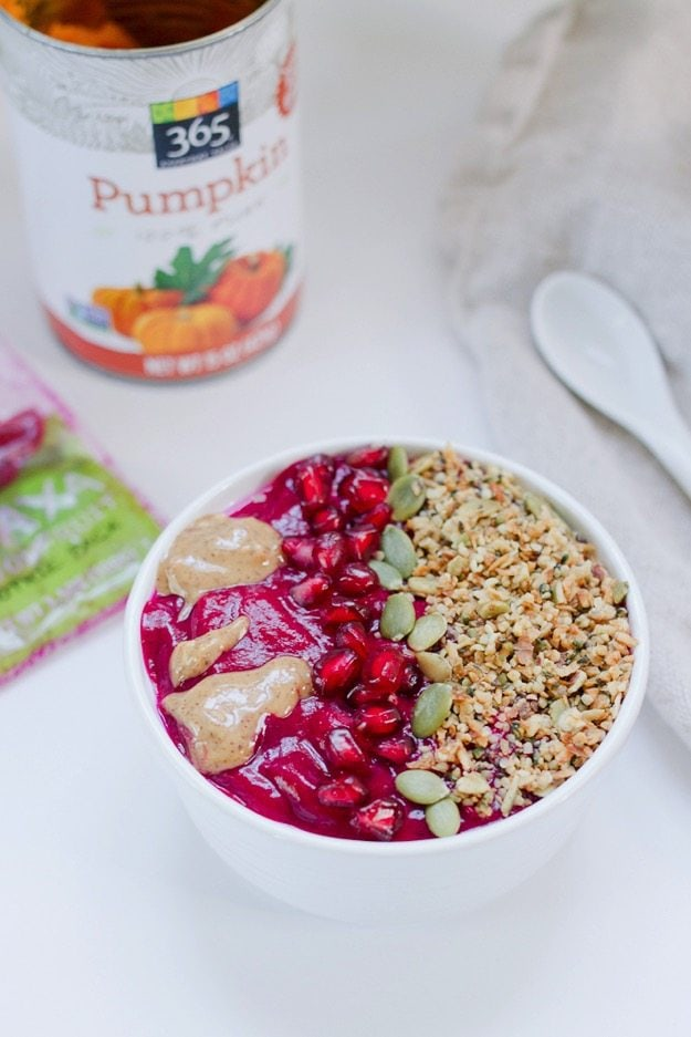 Fall Pumpkin Pitaya Bowl