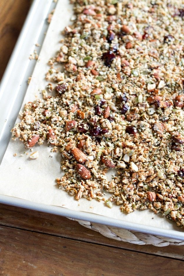 Hippie Grain-Free Granola Studded with Medjool Dates