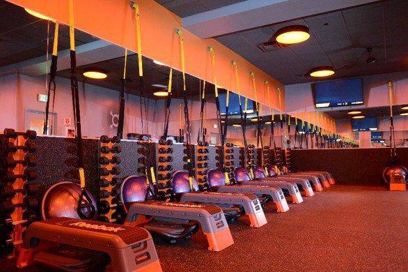 Orangetheory weight room