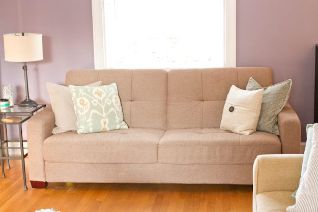 Living Room Makeover Sofa 2