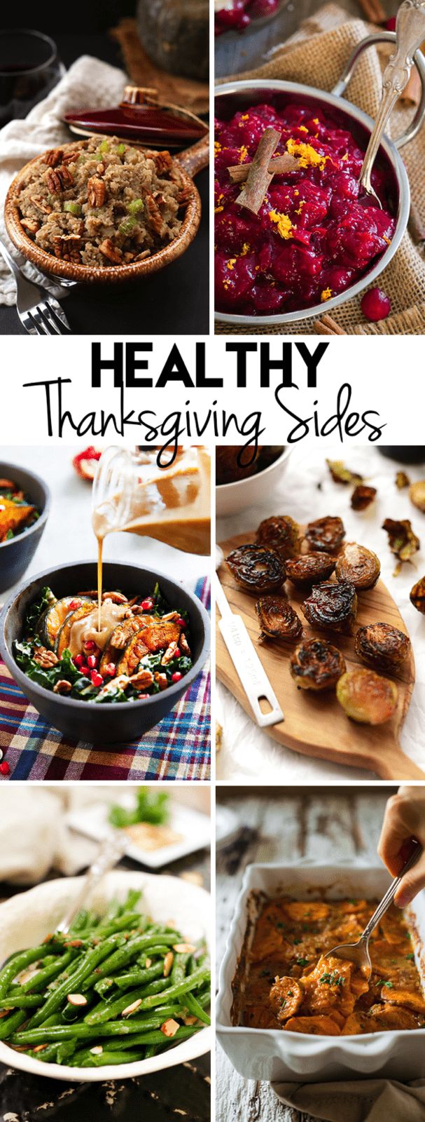 Healthy Thanksgiving Sides #vegan #glutenfree #paleo