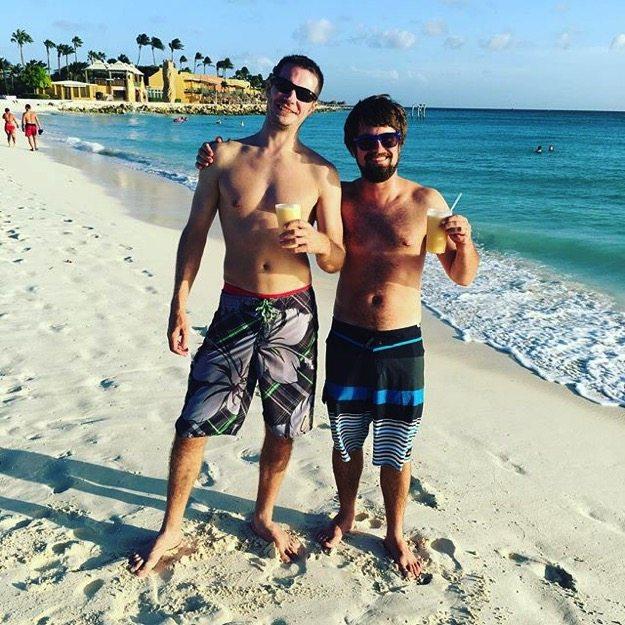 Isaac and Brock Aruba