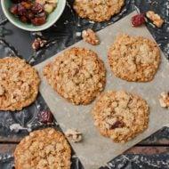 Oatmeal Date Cookies (vegan + gf)