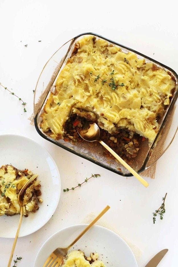 SIMPLE Shepherds Pie So hearty delicious and perfect for colder months vegan GF healthy