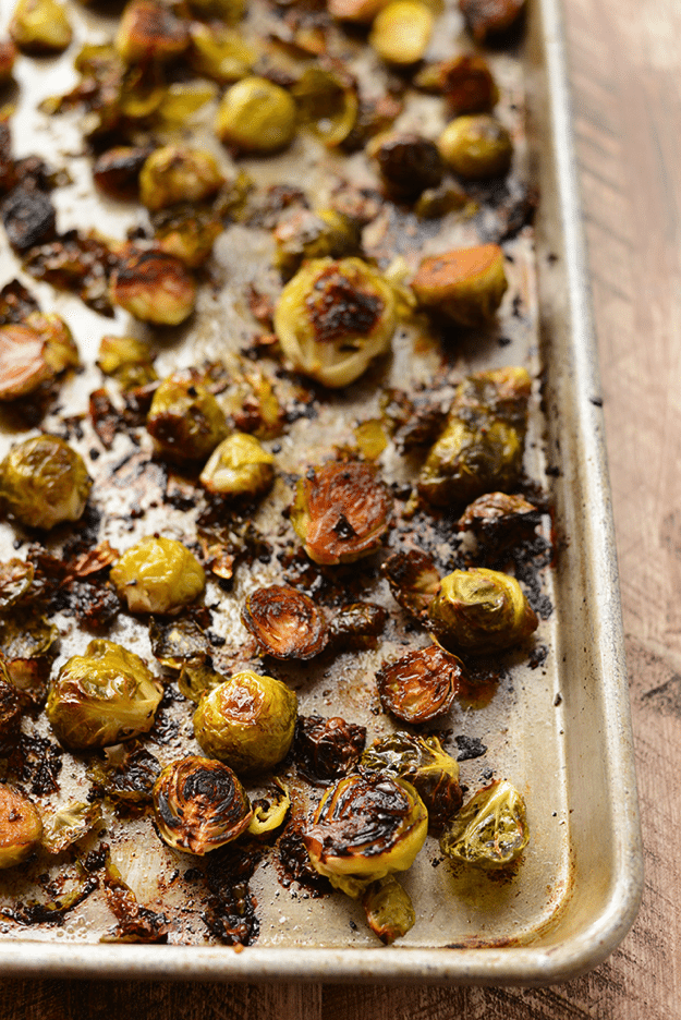 Sea Salt Roasted Brussels Sprouts
