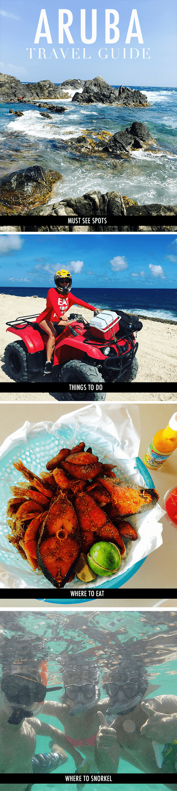The Ultimate Aruba Travel Guide! Places to see, things to do, where to eat and where to snorkel.