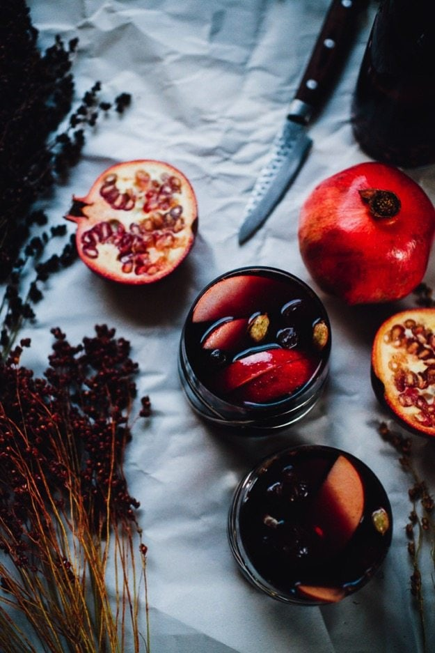 Sanguine sangria apple pomegranate 0713