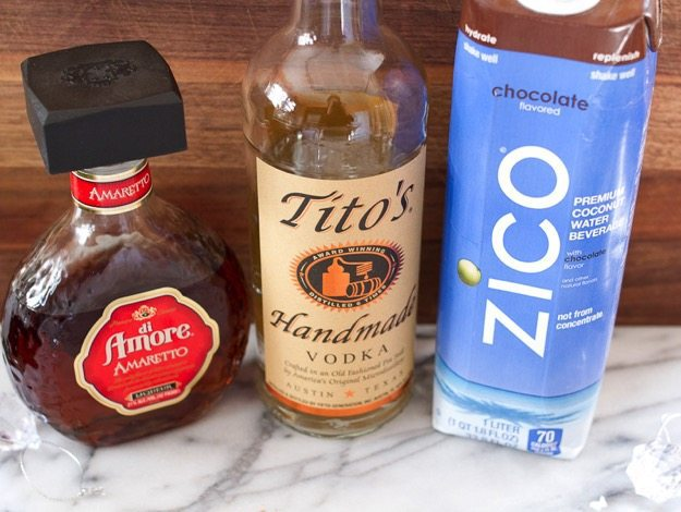 Almond Joy Martini Ingredients