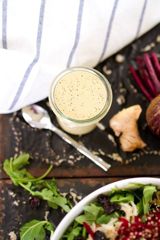 Creamy Ginger Hemp Dressing