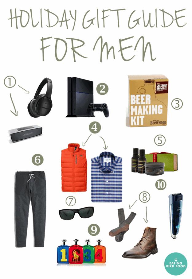 holiday gift guide for men. Black Bedroom Furniture Sets. Home Design Ideas