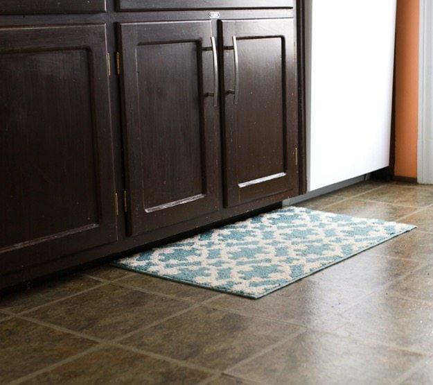 Kitchen Flooring Before
