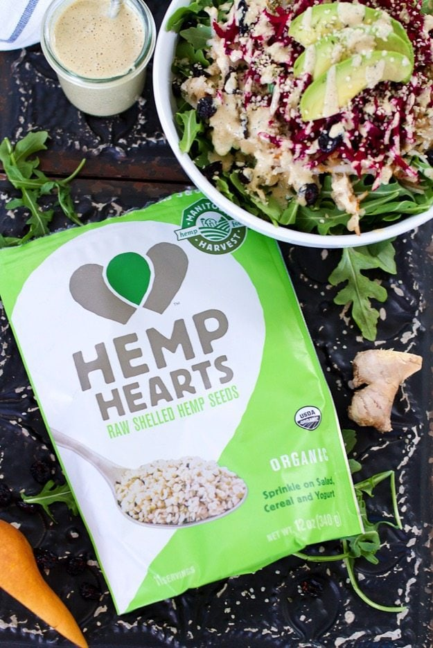 Manitoba Hemp Heart Salad