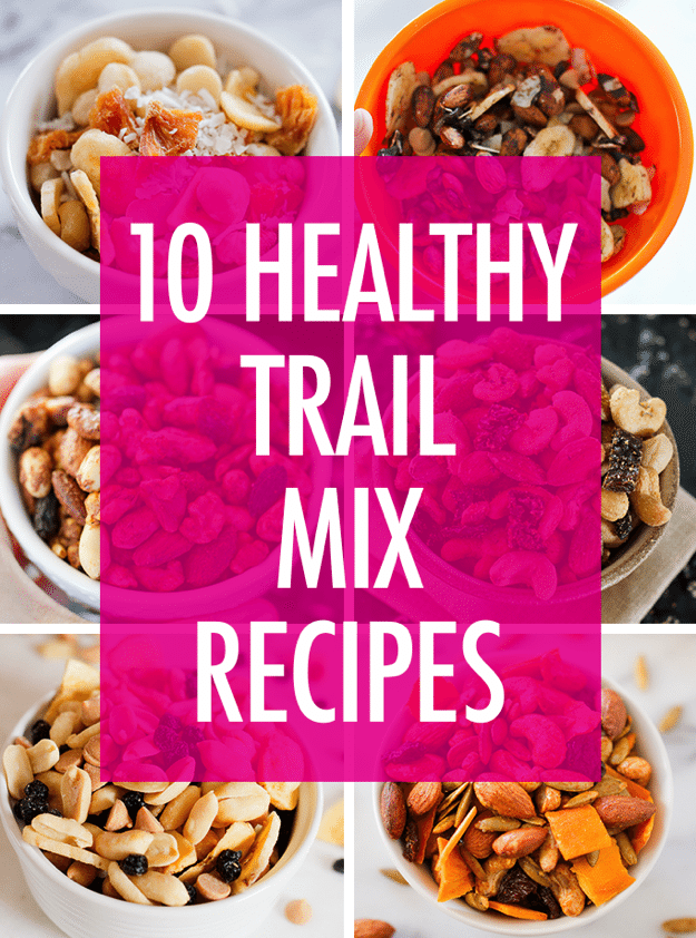 Snack happy with these flavorful and healthy trail mix recipes! They're easy to whip up and perfect for on-the-go snacking.