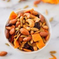 Mango Curry Trail Mix