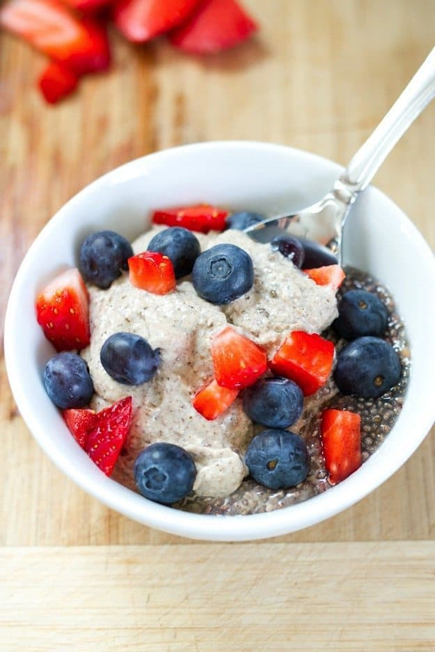 Eating Clean Creamy Breakfast Chia Pudding