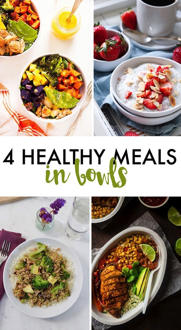 4 HEALTHY One Bowl Meals