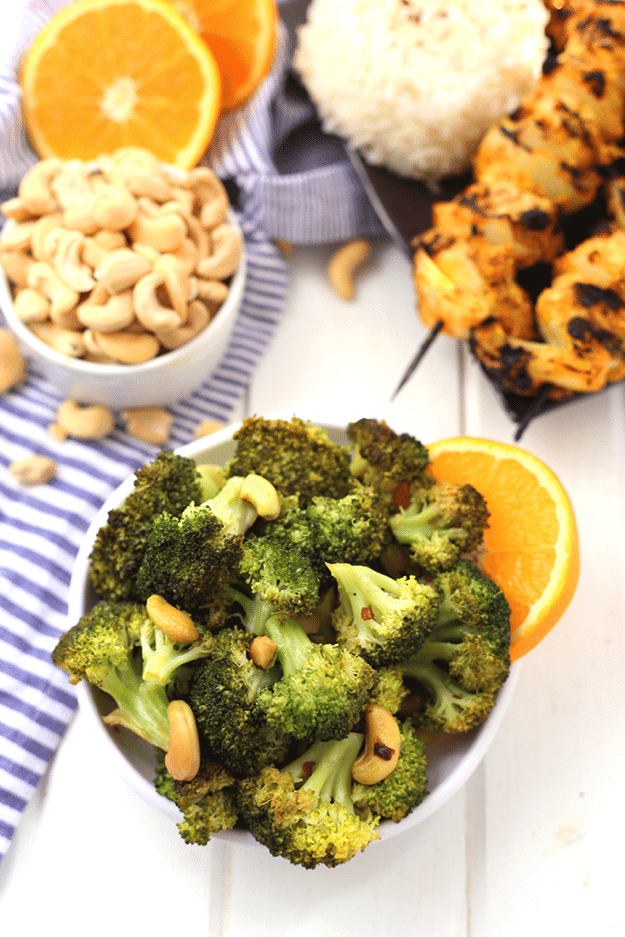 Orange Cashew Broccoli 3