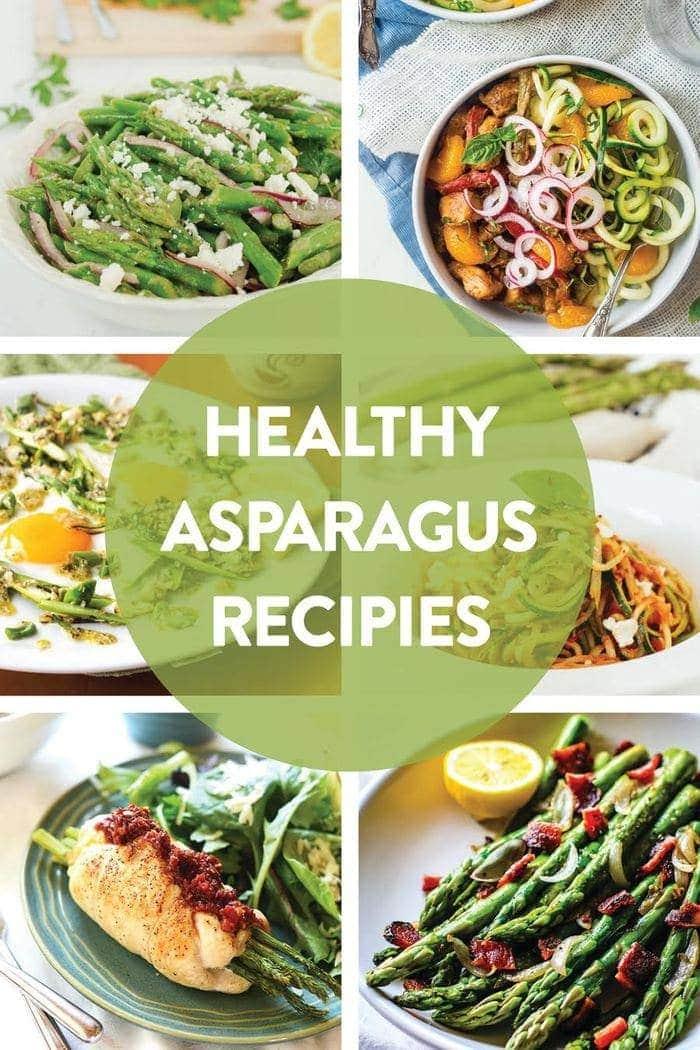 10 HEALTHY Asparagus Recipes for Spring!