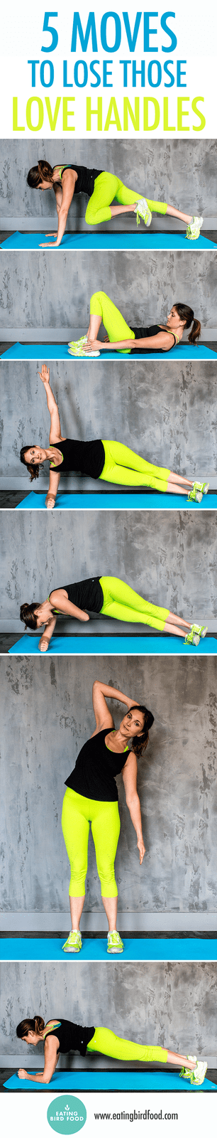 5 Moves to Target Your Love Handles