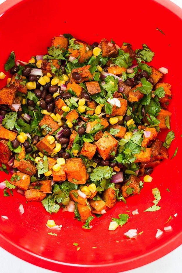 Sweet Potato Dip Mixture
