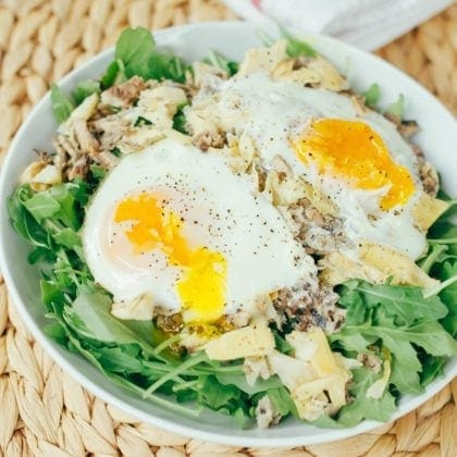 4-Ingredient Seaside Paleo Breakfast Salad