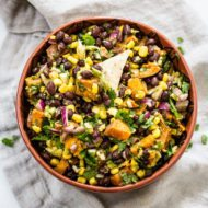 Southwest Sweet Potato Black Bean Dip