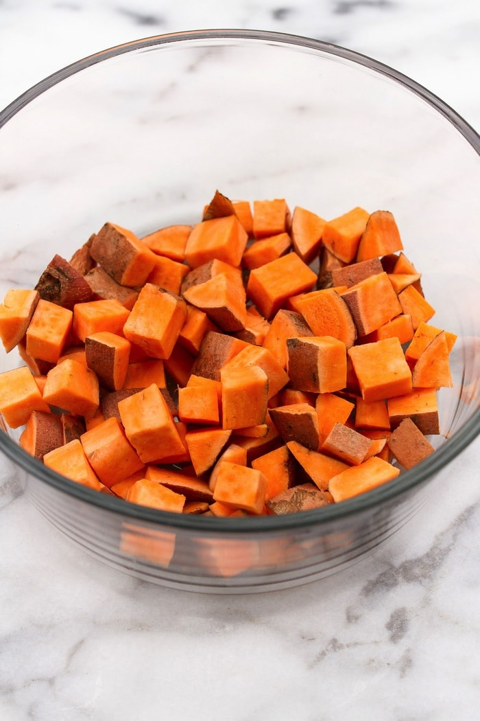 How to Make Sweet Potato Croutons
