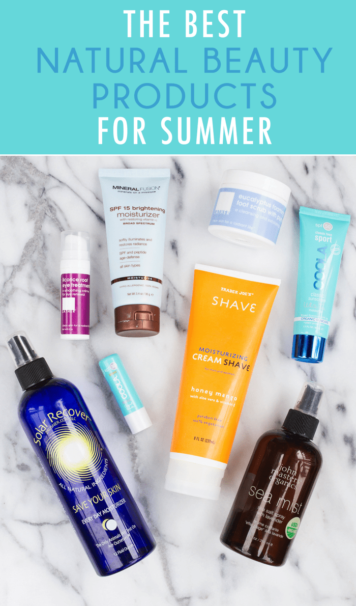 The Best Natural Beauty Products for Summer