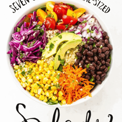 Seven Slimming Meal-Sized Salads FREE ebook!