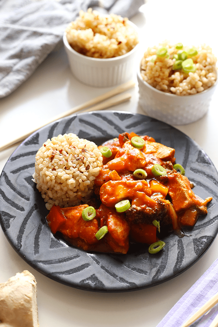 Davida's Slow Cooker Sweet and Sour Chicken
