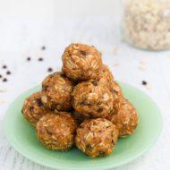 Peanut Butter No Bake Energy Balls + Video