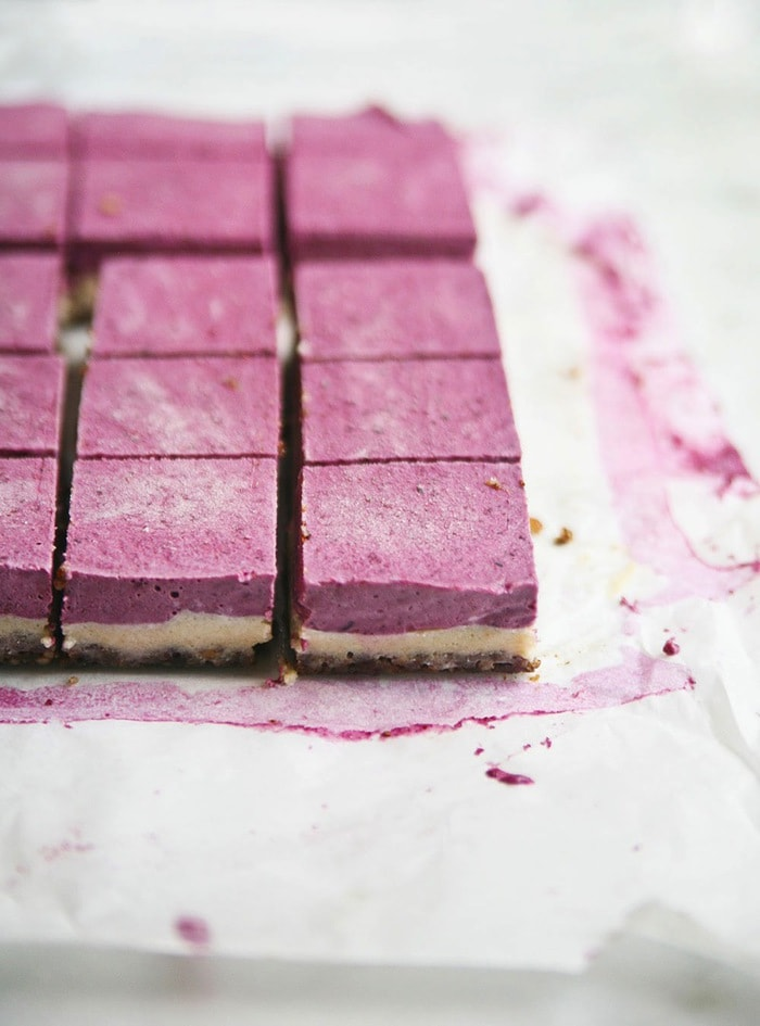 raw berry burst cheesecake