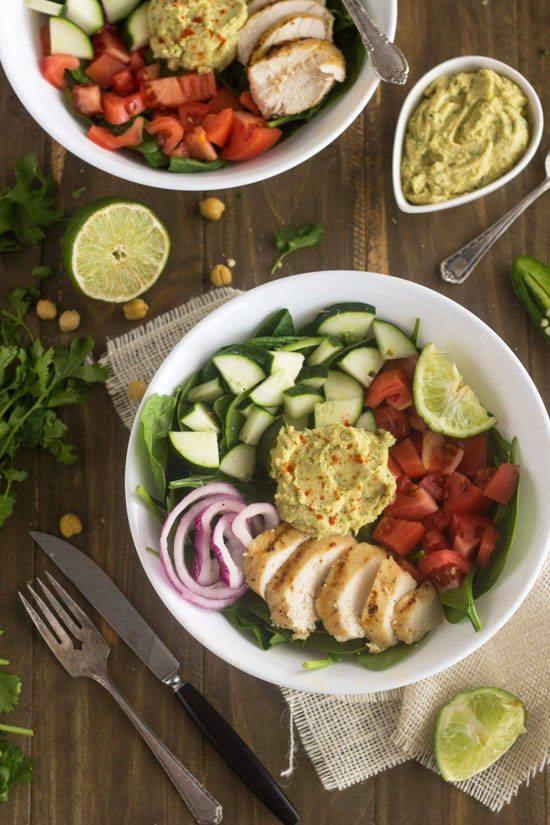 Panera Hummus Power Salad 9