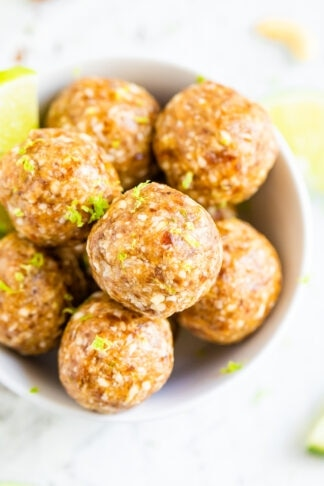 Key Lime Energy Balls