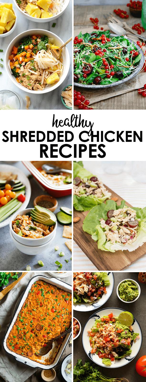 HEALTHLY Shredded Chicken Recipes